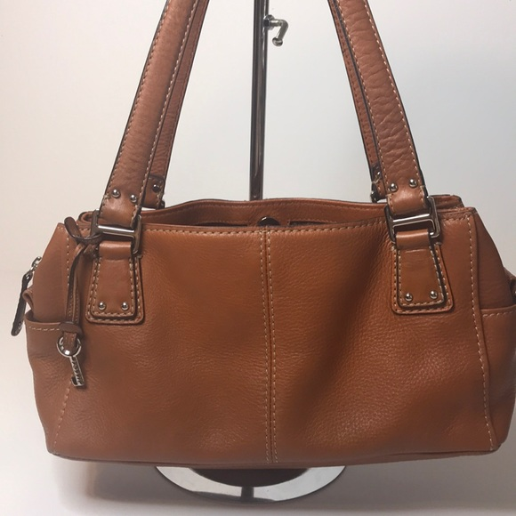 Fossil Handbags - Fossil Brown Leather Bag